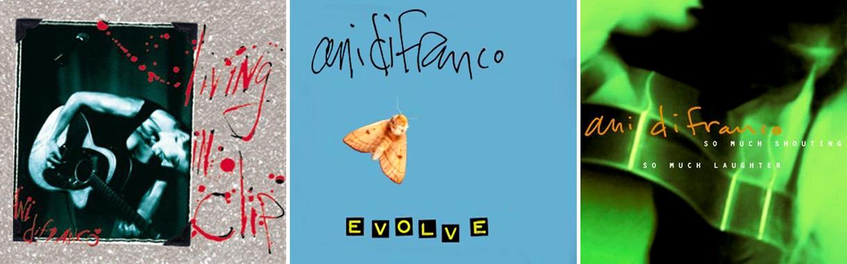 AniDiFranco-EvolveShoutingInClip-Covers-SML
