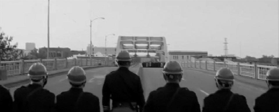 bridgePolice-Crossroads-BW